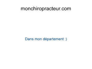 Chiropracteur Guadeloupe